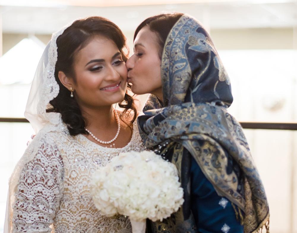 Hamida and Victoria